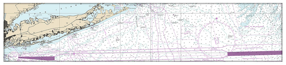 East End Blueprint NOAA Charts Image